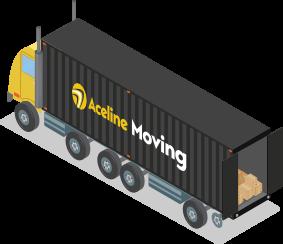Aceline moving truck